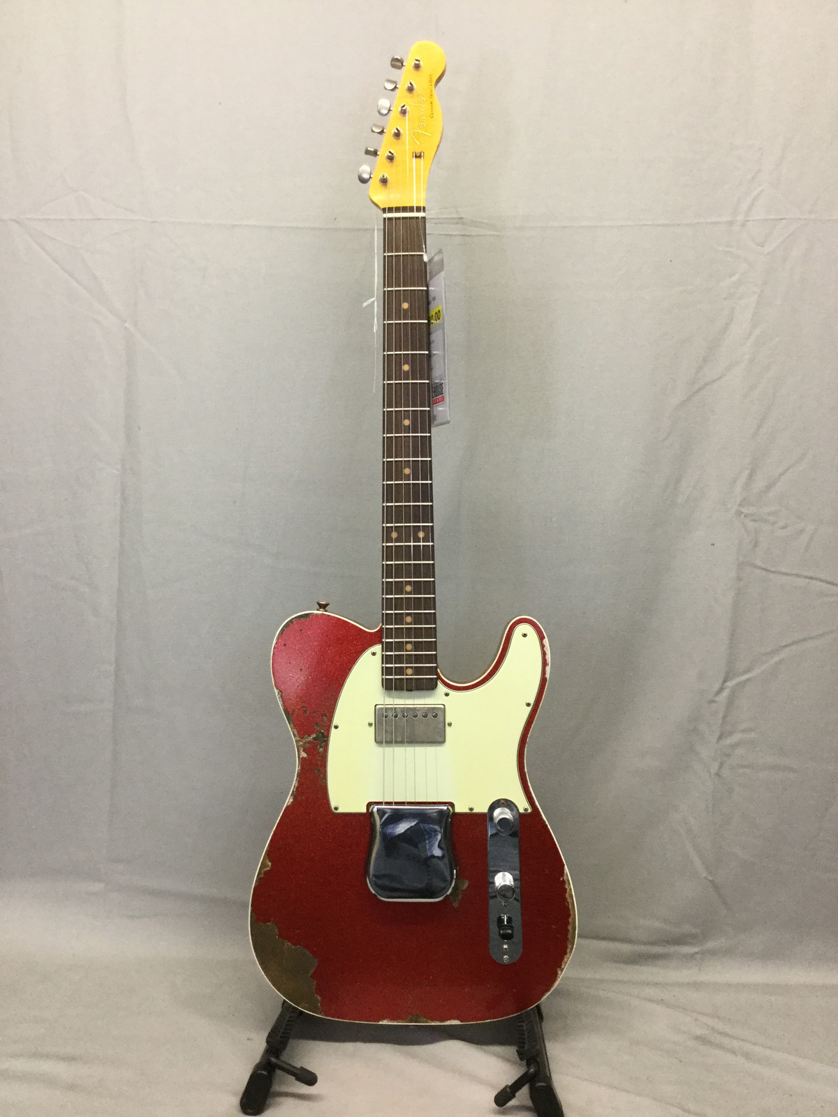 Fender Custom Shop 60s Super Faded/Aged Red Sparkle HB Tele - $3680