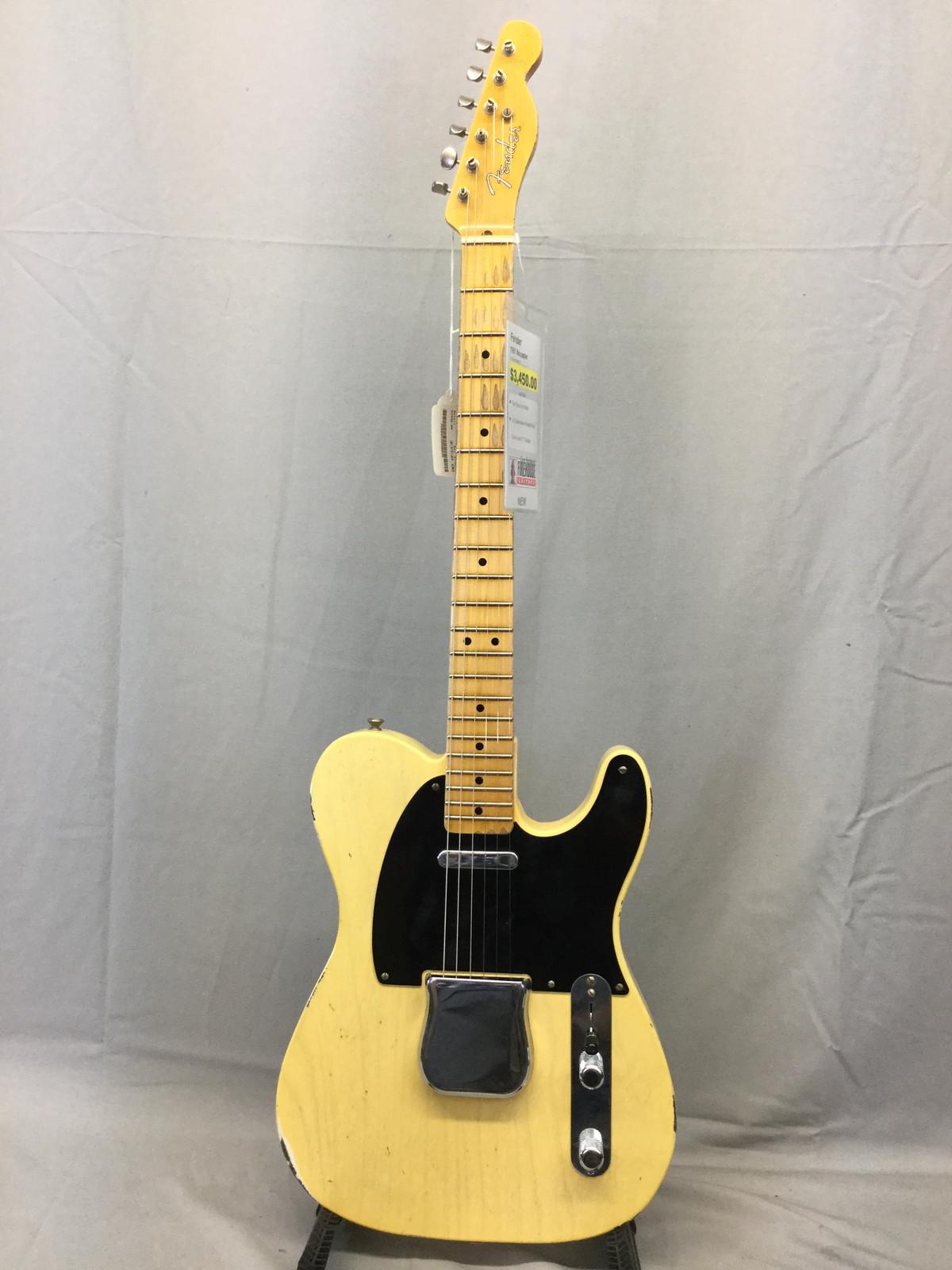 Fender Custom Shop 1951 Nocaster Custom Built Faded Tele $3450