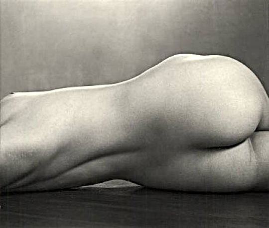 Edward Weston fotografo nudo