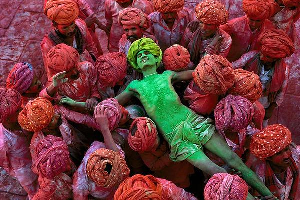 steve mccurry fotografia india colori