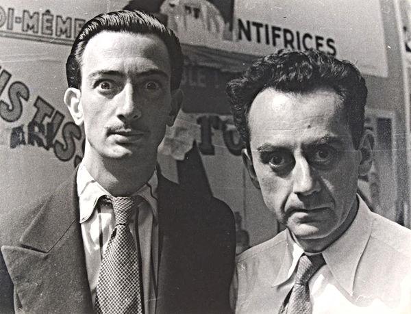 Man Ray e Salvador Dalí