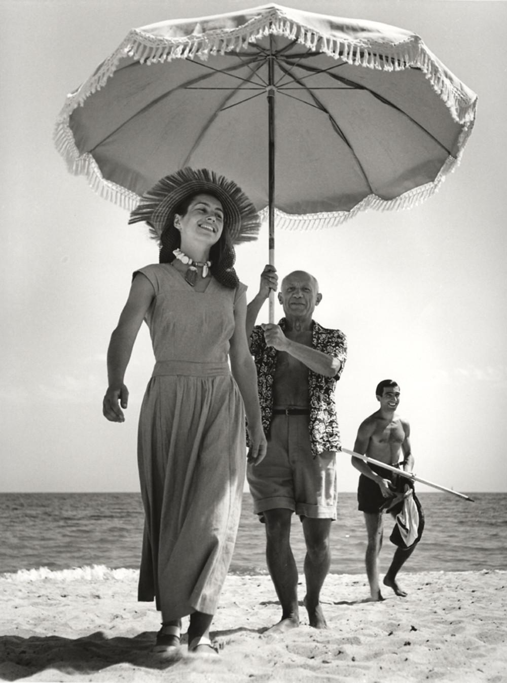 Picasso Robert Capa foto