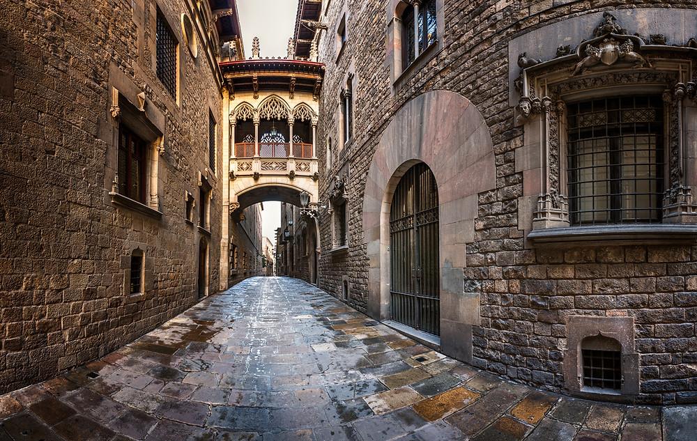 barrio gotico - cosa vedere a barcellona
