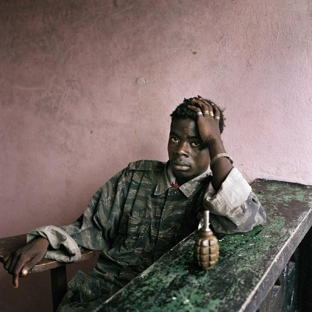 Tim Hetheringhton fotografo africa