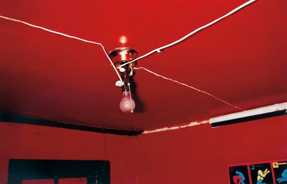 William Eggleston Red Ceiling