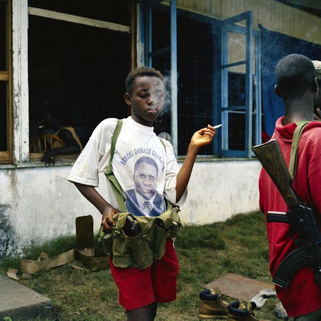 Tim Hetheringhton fotografo Liberia
