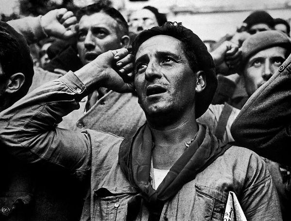 robert capa guerra civile spagnola