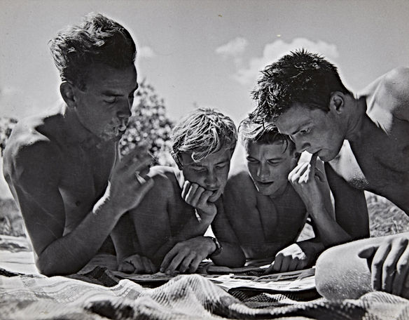 Herbert List fotografia omosessuale