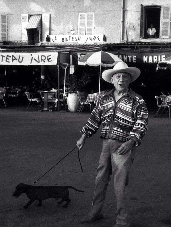 Marc Riboud picasso