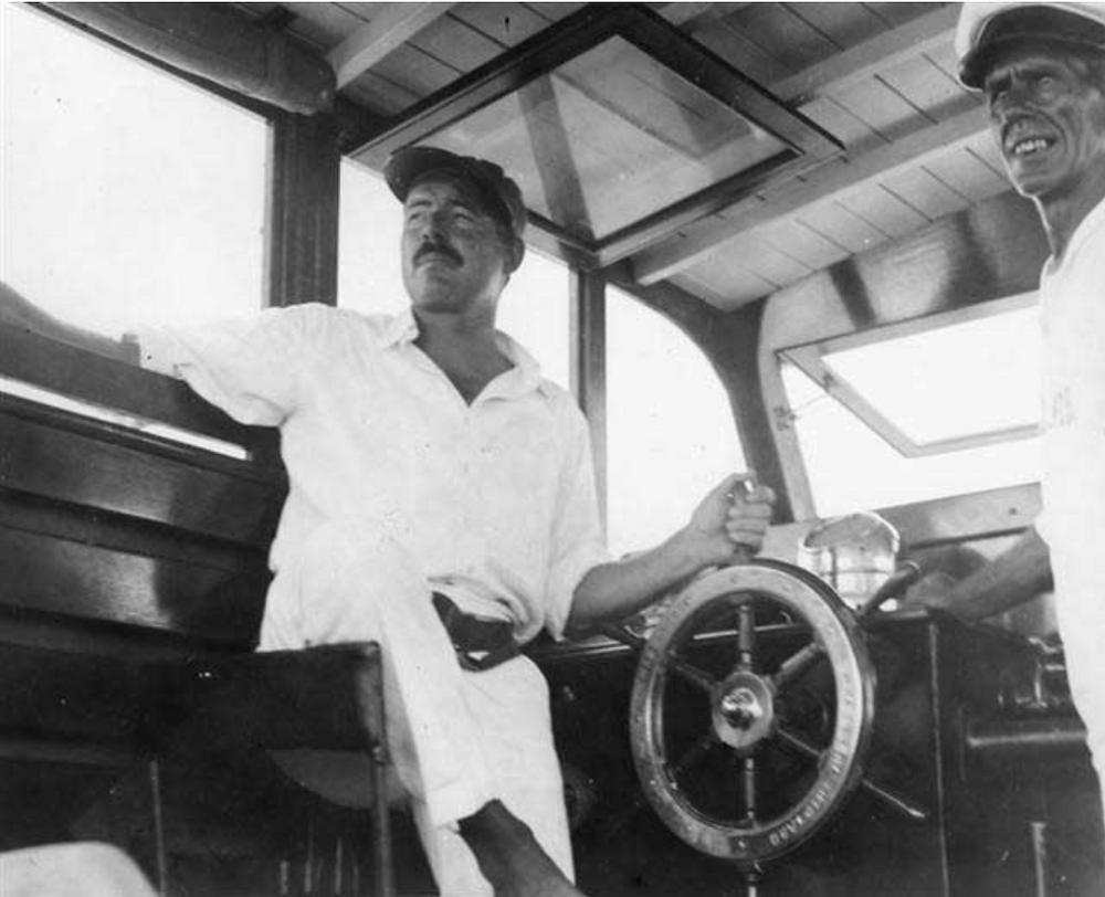 Hemingway a Cuba