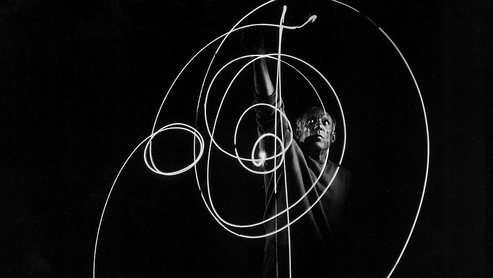Picasso light painting