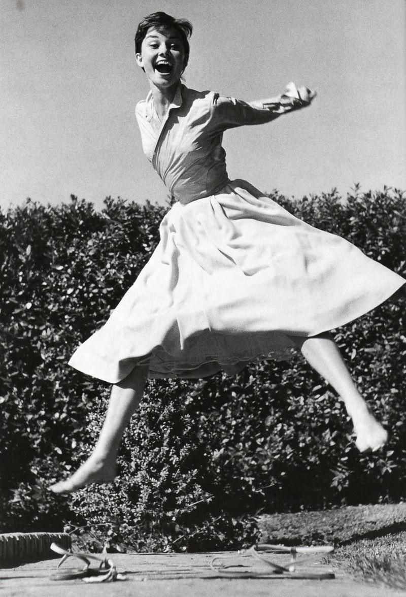 Halsman jumping style
