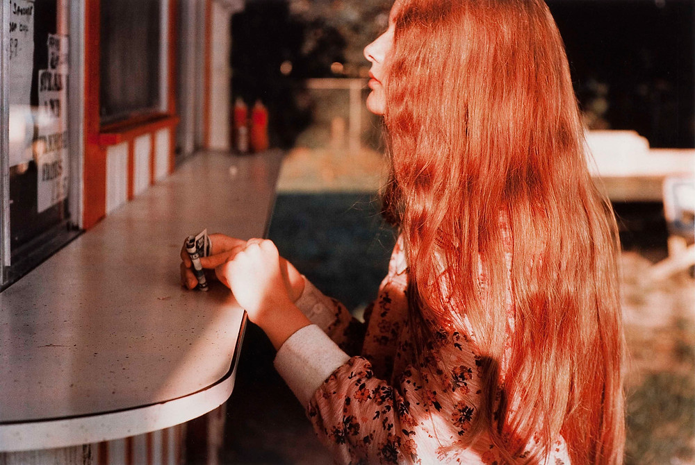William Eggleston ragazza bionda