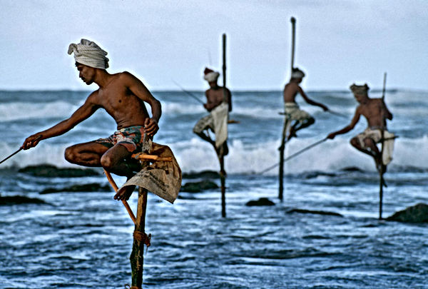 Steve mccurry fotografia pescatori