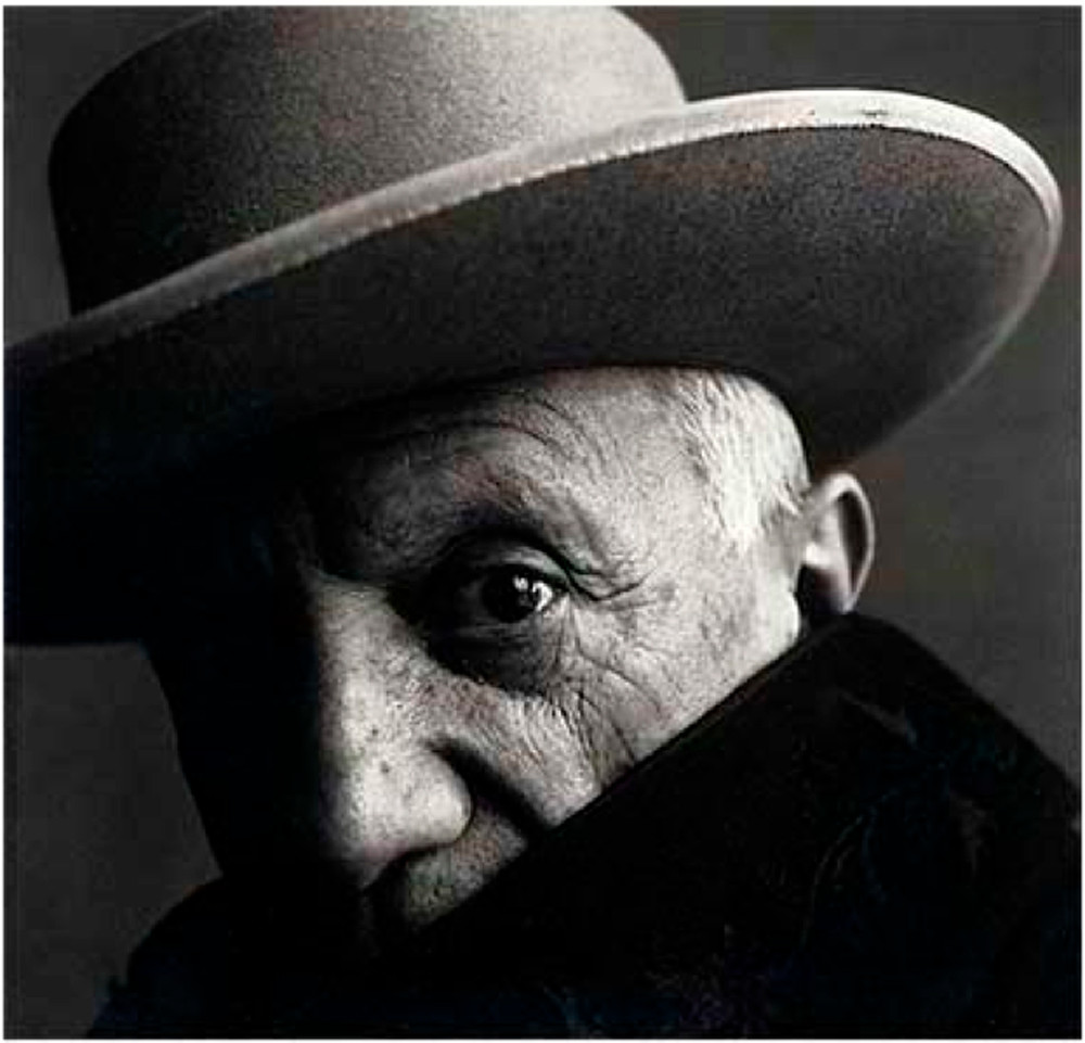 Irving penn ritratto picasso