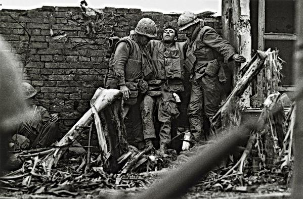 Don McCullin fotografia guerra vietnam