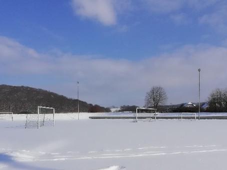 Winterimpressionen - Metzenbergstadion im Winterschlaf