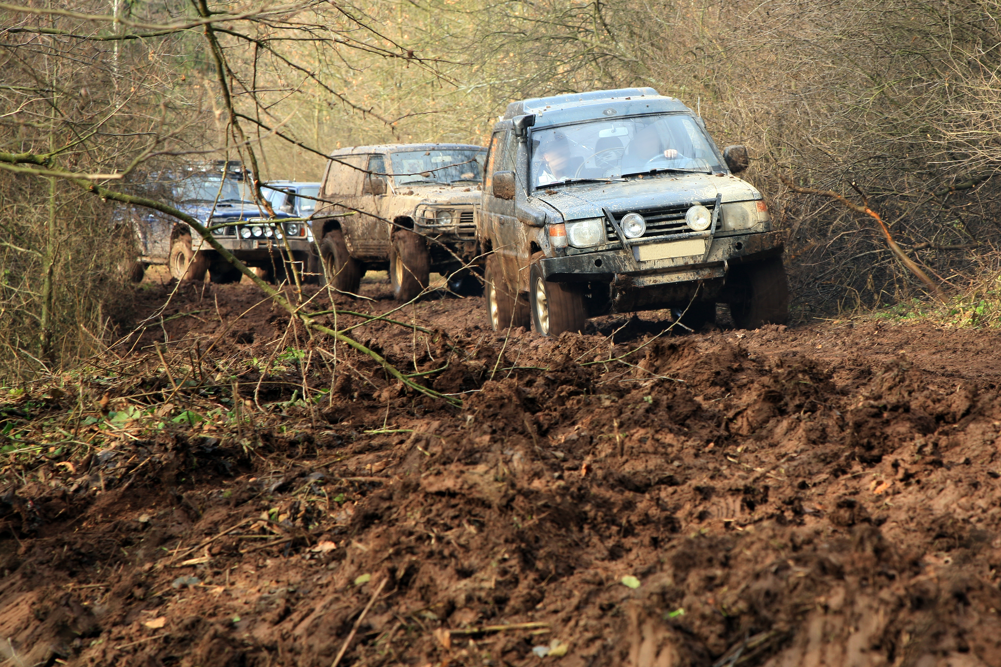 4X4 Fun in the Mud