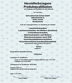 Zertifikat HPQ Schraubenwerk