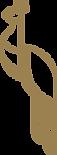 Nelu Golden Peacock Logo