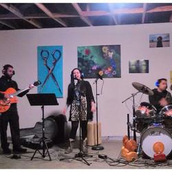 Singing at Good Job Entertainment