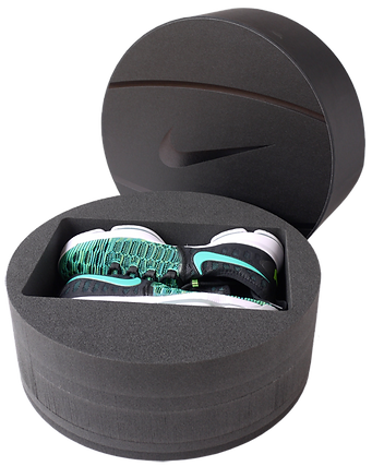 Nike shoe box design