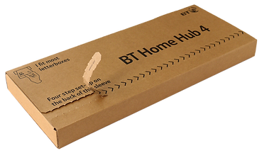 BT home hub structural packaging design