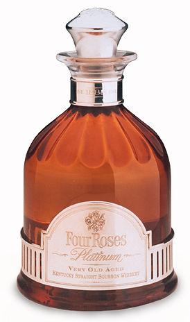 Four Roses bottle structural packaging design