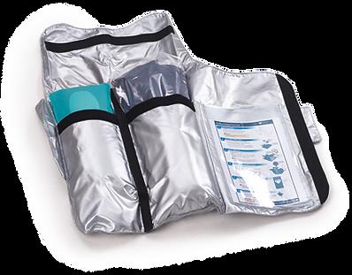CAERvest body cooling kit structural packaging design
