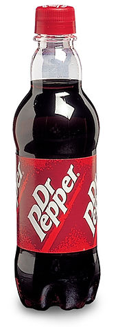 Dr Pepper bottle structural packaging design by a.m. associates