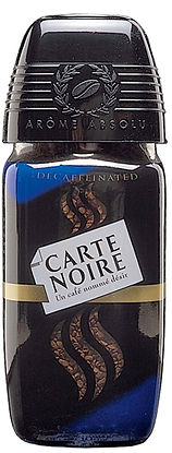 Carte Noire instant coffee structural packaging design