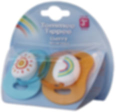 Tommee Tippee soother range packaging design