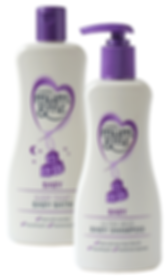 Mum & Mee toiletries range packaging design