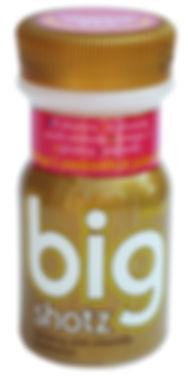 Big Shotz vitamin drink structural packaging design