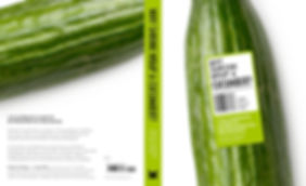 Why shrink wrap a Cucumber environmental  packaging design book by a.m. associates