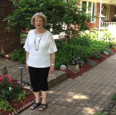 Doris Grivna welcomes you to her fantastic garden