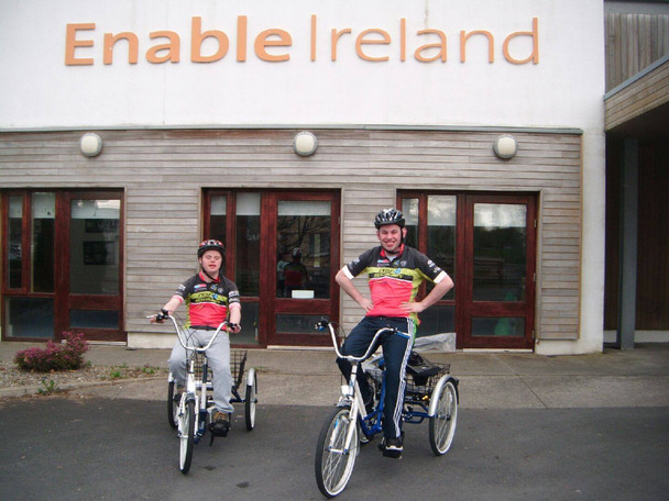 Adapted bike for Enable Ireland...