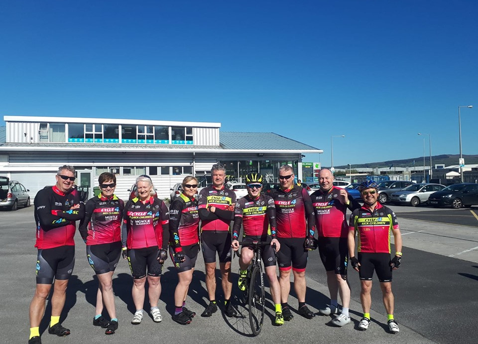 Supporting Des Butler Memorial Cycle