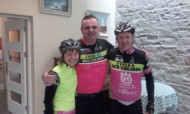 C4SC cyclists supporting local causes