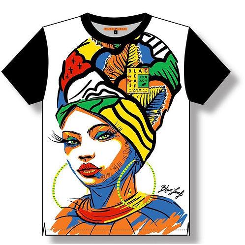 Blac Leaf - African Beauty Raglan Shirt