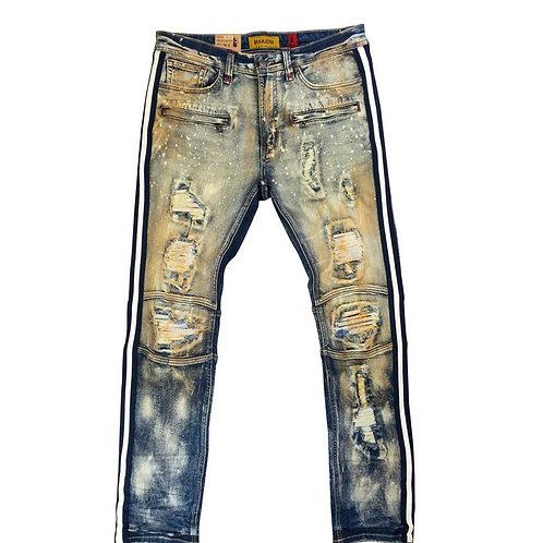 Makobi - Shaw Moto Biker Jeans
