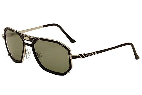 Cazal Sunglass CZ 659/3 color 011SG Matte Black-Silver/Grey Gradient Lenses Size