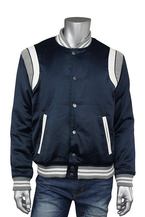 Jordan Craig Varsity Jacket Navy