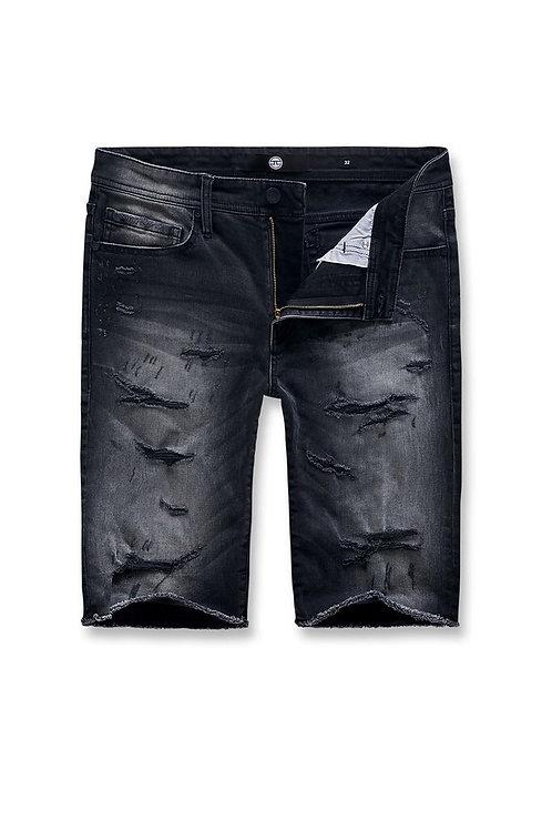 Jordan Craig - Seaside Denim Shorts ( Black Shadow )