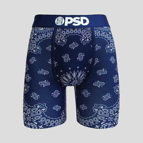 PSD - Blue Bandana