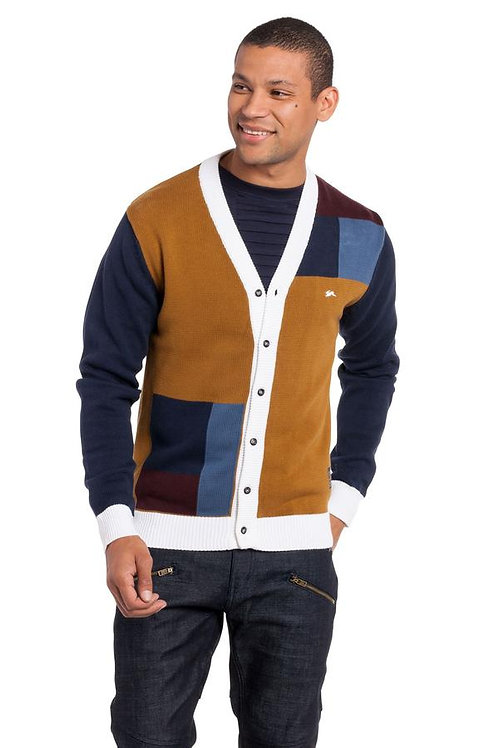 Master Long Sleeve Button Up Cardigan Sweater