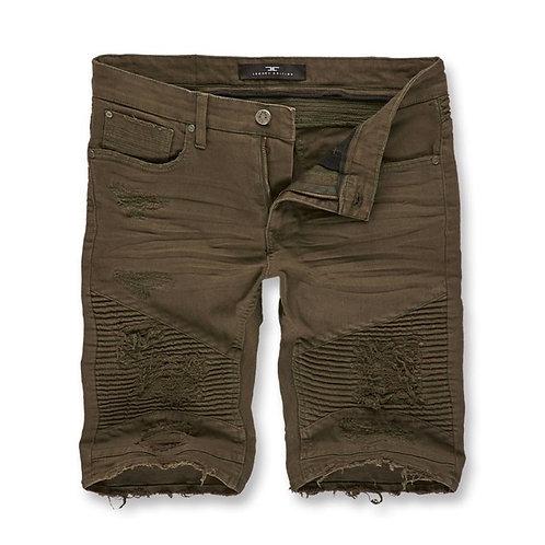 Jordan Craig - Savior Biker Shorts 2.0 ( Army Green )