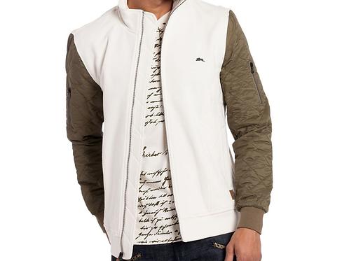 Tyler Bomber Jacket (Creme)