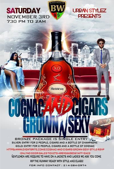 Urban Stylez Presents Cognac and Cigars Party
