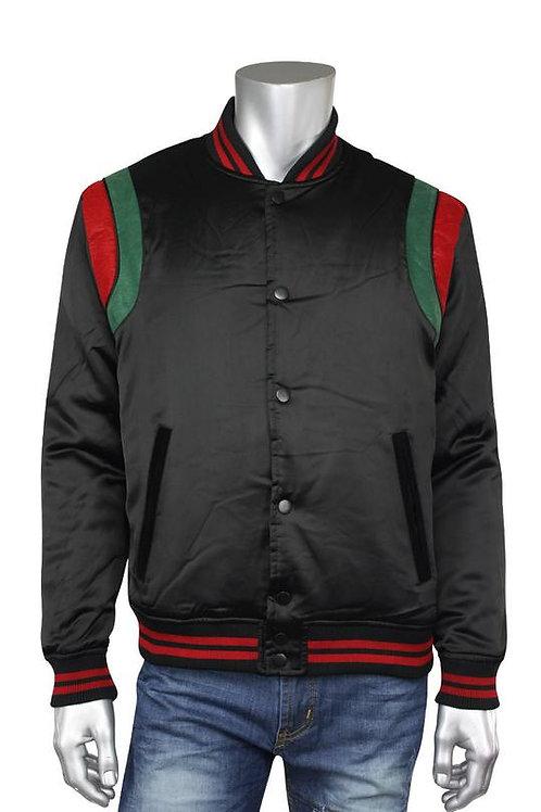 Jordan Craig Varsity Jacket Black